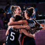 JO 3×3 féminin : Vainqueur du Japon, la France est en demi-finale !