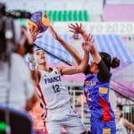 JO 3×3 féminin : la France se relance sans briller contre la Mongolie