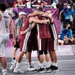 JO 3×3 masculin : héroïque, la Lettonie remporte la médaille d'or, la Serbie se pare de bronze