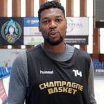 Junior Mbida rempile à Champagne Basket