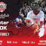 Cholet Basket fait revenir Peter Jok