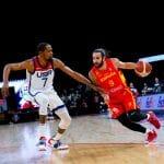 JO: Les Etats-Unis terminent leur préparation avec une victoire sur l'Espagne, 83-76