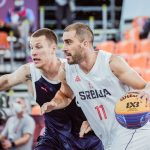 JO 3×3 masculin : la Serbie tombe de haut contre la Russie, qui défiera la Lettonie en finale