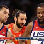 Les highlights de USA-Espagne