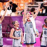 JO 3×3 féminin : les Etats-Unis premières championnes olympiques de l'histoire !