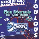 Prépa : l'Élan Béarnais de Pau rencontre Andorre à Toulouse le 11 septembre