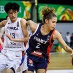 Coupe du Monde U19 féminine: Les Françaises sans pitié face à la Corée, 92-35