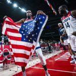 Kevin Durant, champion olympique avec Team USA : « Remporter ce titre contre le reste du monde est une énorme affaire »
