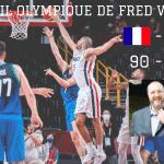 L'oeil olympique de Fred Weis – « L'âme de ce match, c'est Nicolas Batum »