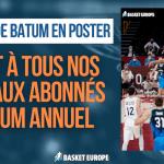 Le contre de Batum en poster offert pour tous nos nouveaux abonnés !