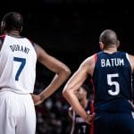 JO – Nicolas Batum après la défaite en finale : « L'avenir du basket français est radieux »