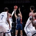JO : Le basket 3e sport le plus suivi en France, en août, sur l'ensemble des médias
