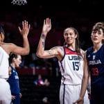 JO féminin : 7e finale consécutive pour les Etats-Unis grâce à leur succès maîtrisé contre la Serbie