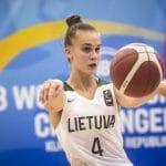Juste Jocyte (ASVEL féminin) : « Je suis déterminée à ramener le plus de médailles possibles à la Lituanie »