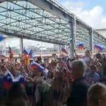 JO : La Slovénie et Luka Doncic accueillis en héros à leur retour au pays