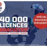 40 000 licences offertes par la FFBB aux adhérents « actifs »