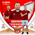 Un assistant coach géorgien à Monaco
