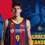Barcelone officialise le départ de l'Argentin Leandro Bolmaro pour la NBA