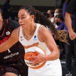 WNBA : Plus d'un an après sa blessure au genou, Bria Hartley a effectué son come back