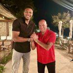 La photo : Les deux Dieux du basket grec