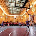 Les photos : Quand le 3×3 se joue au Palais du Parlement de Bucarest