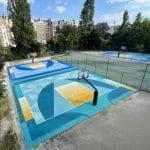 Paris 2024 : 15 terrains de basket 3×3 remis à neuf