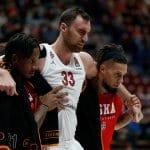 Euroleague : Nikola Milutinov (CSKA Moscou) évite une opération au genou